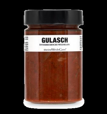 Gänse Gulasch
